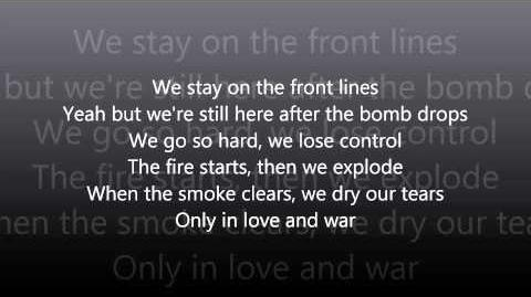 Love & War (With On Screen Lyrics) HD