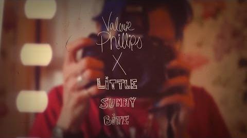 Little sunny bite meets valerie phillips ♡