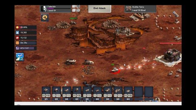 Mars Frontier Utilizando o MAP