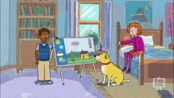 Martha and the Weather Dog