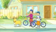 Helen and TD bikes