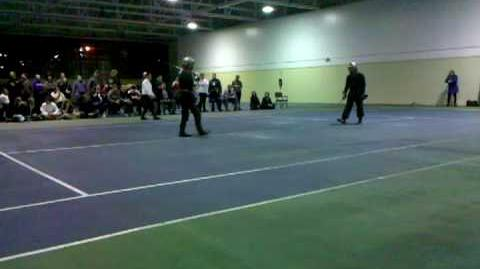 2010 Hayes Tobler Martial Challenge Sword and Buckler