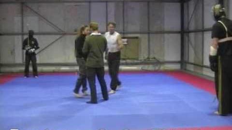 Martial Challenge Simon Thurston vs Lois Forster Longsword