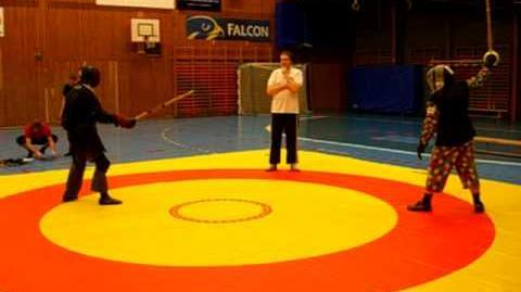 Martial challenge Andreas Engström vs. Nigel Plum, sabre