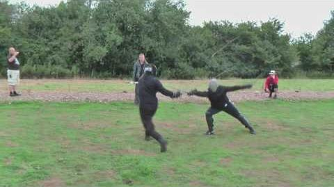 Martial Challenge Nick vs Oli Rapier and Dagger edited