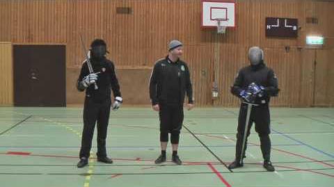 Martial challenge Michael Thomas vs Dierk Hagedorn Longsword