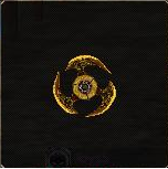 Small Gold Wheel