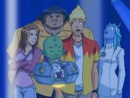 Martin Mystery - Nightmare of the Coven - Wendaloo with Martin, Diana, Java and Billy