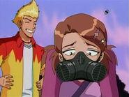 Gas Masked Diana