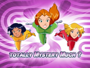 Totally Mystery Much? Titlecard