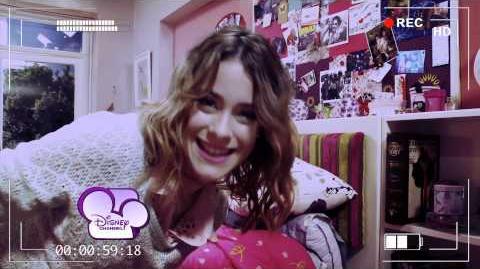 Les Secrets de Martina (épisode 1) La chambre de Violetta - Exclusivité Disney Channel Promo