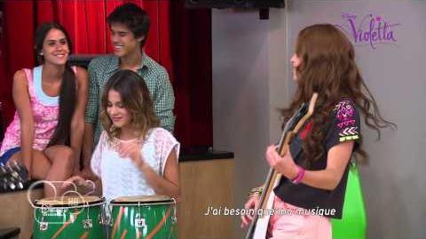 """Violetta saison 2 - """"Algo suena en mi"""" (épisode 43) - Exclusivité Disney Channel"""