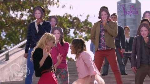"""Violetta saison 2 - """"Si es por amor"""" (épisode 78) - Exclusivité Disney Channel"""