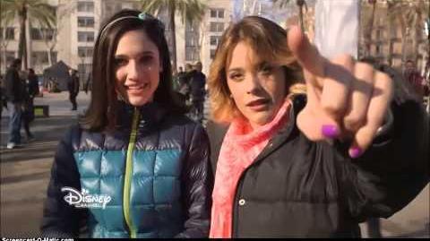Violetta saison 3 - Les coulisses Tournage à Barcelone