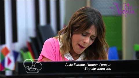 Violetta saison 2 - Extrait 1 du premier épisode - Violetta réconforte Francesca - Exclusif