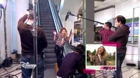 Violetta saison 3 - Les coulisses Une journée de tournage avec les acteurs