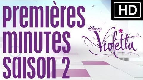Surprise pour nos 500 000 fans ! - Premières minutes Violetta saison 2 - Exclusivité