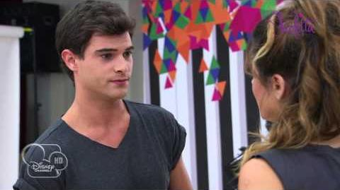 Violetta saison 2 - Extrait Diego déclare sa flamme à Violetta (épisode 23) - Exclusif