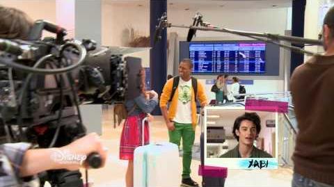 Violetta saison 3 - Les coulisses Premier jour de tournage au Studio