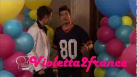 Violetta2--Rencontre de Violetta,Leon et Diego Ep1 Ep2