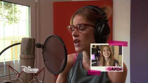 Violetta saison 3 - Les coulisses Enregistrement des chansons