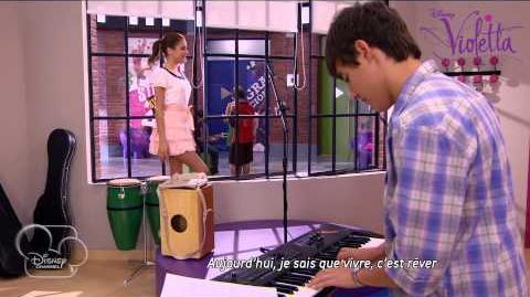 """Violetta - """"Te creo"""" (épisode 35) - Exclusivité Disney Channel"""