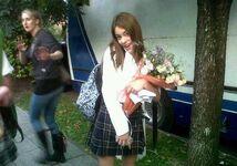 Tini at school