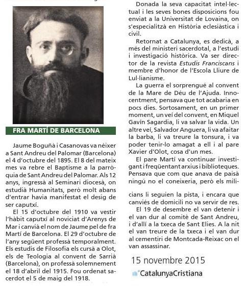 El P. Martí de Barcelona.