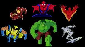 Marvel 90s heroes