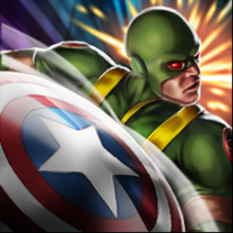CaptainamericaMN 4 shield-throw