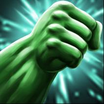 Hulk 1 rage-punch