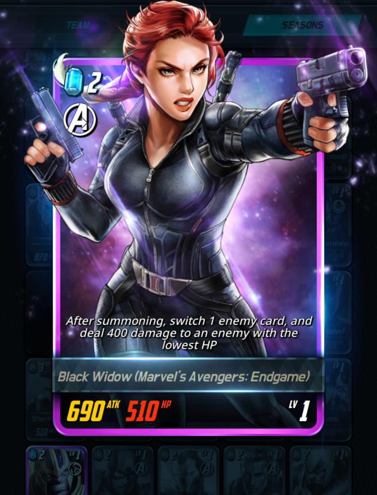 Black Widow Marvel S Avengers Endgame Marvel Battle