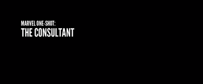 The Consultant title card