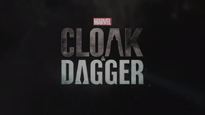 Cloak & Dagger title card