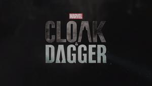 Cloak & Dagger title card