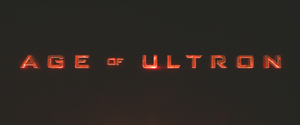 Age of Ultron title card