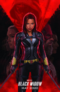 Black Widow D23 film poster