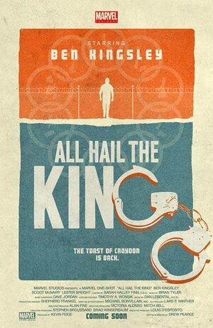 All Hail the King poster