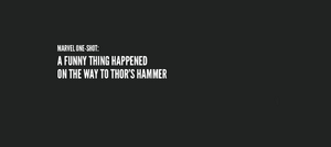 A Funny Thing Happened on the Way to Thor's Hammer title card