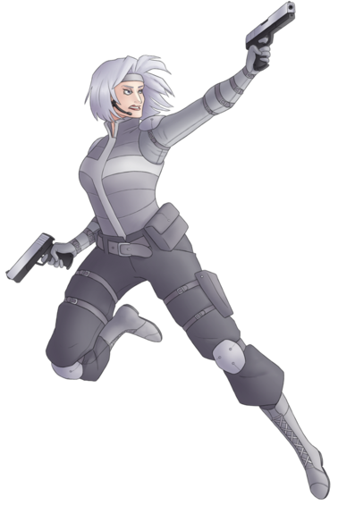 Silver Sable by green-mamba