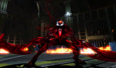 Carnage in the Amazing Spider Man 2 video game