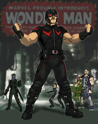 Wonder Man (MCU) - by NeedhamComics
