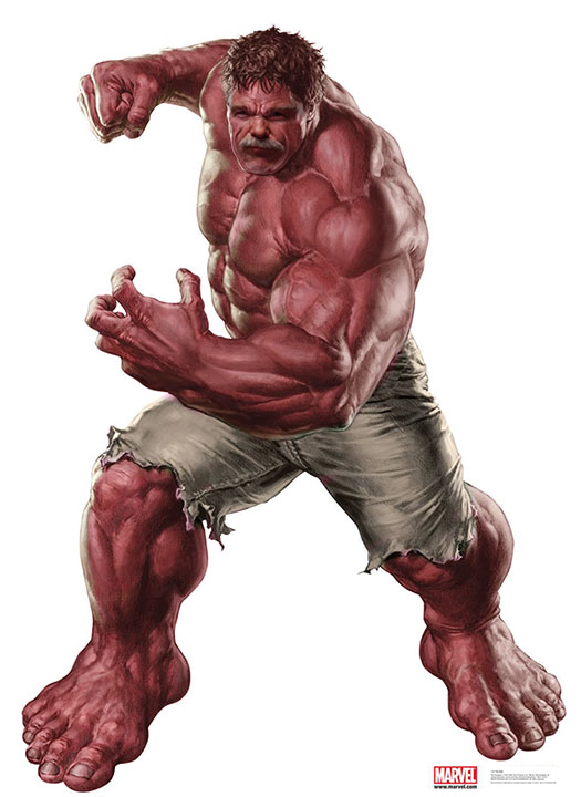 Red Hulk | Marvel Cinematic Universe Unlimited Wiki ...