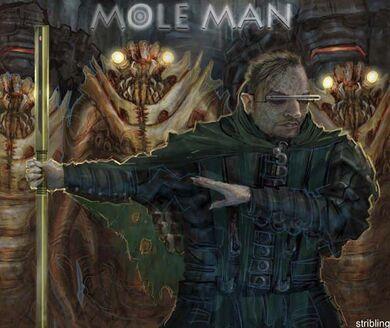 Mole man by strib