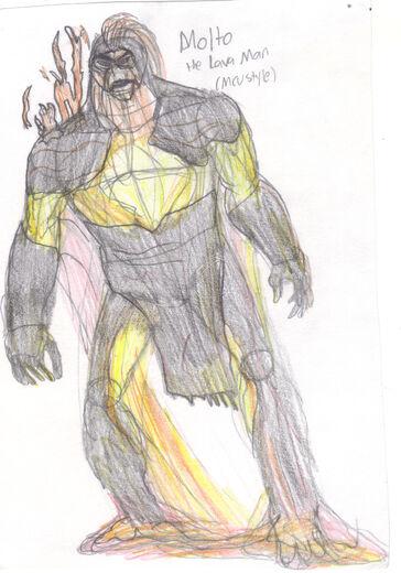 Molto the Lava Man
