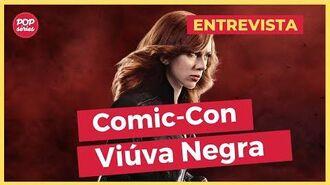 Viúva Negra Scarlett Johansson e elenco do filme da Marvel