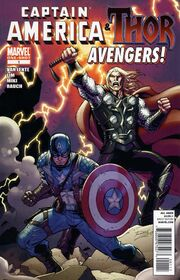 Captain America and Thor - Avengers