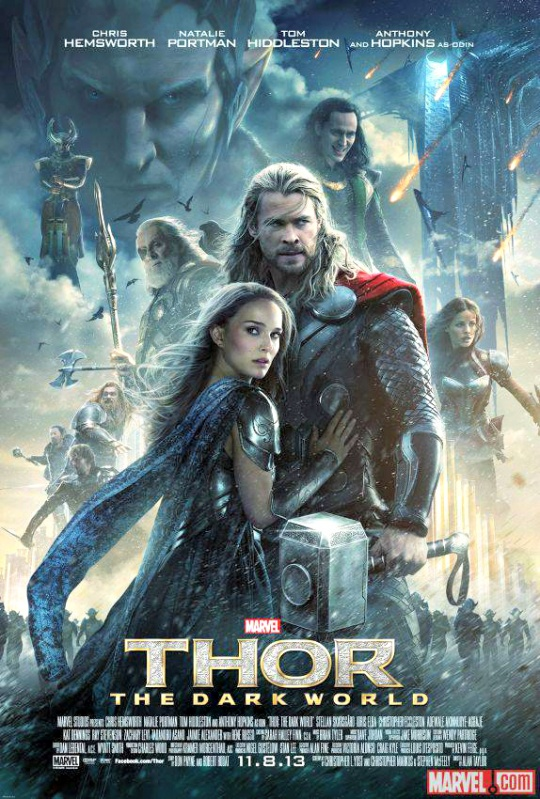 Image result for thor the dark world poster