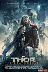 Thor 2 theatrical poster