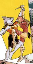 Shark-Girl vs Delilah